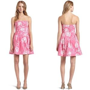 Lilly Pulitzer | Blossom Strapless Dress Pink